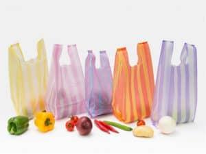 پلاستیک دسته دار راه راه