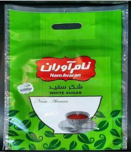 بسته بندی پلاستیکی شکر