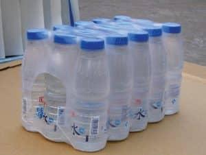 شیرینگ آب معدنی