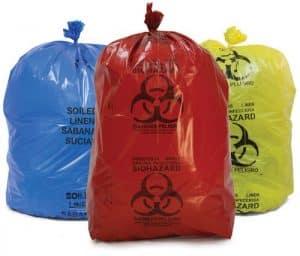 کیسه زباله بیمارستانی