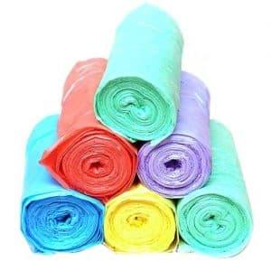 رول پلاستیک رنگی