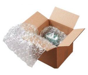 نایلون حبابدار داخل جعبه
