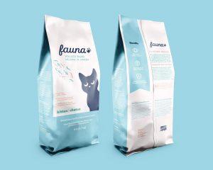 بسته بندی غذای گربه